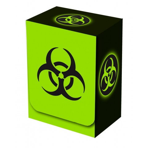 Legion - Deckbox - Absolute Iconic - Biohazard - 57mm/100 cards (кутия за MTG размер карти)