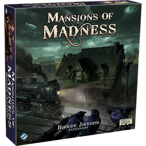 Mansions of Madness: Second Edition – Horrific Journeys: Expansion (2018) - разширение за настолна игра