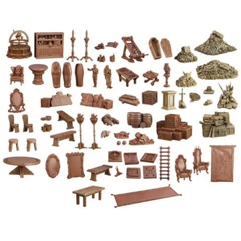 Mantic Games: Terrain Crate - Dungeon Depths