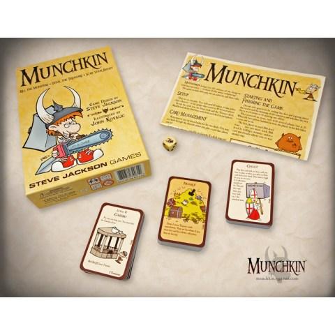 Munchkin (не Deluxe, 2001) - настолна игра