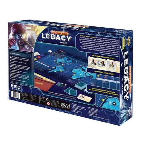 Pandemic Legacy: Season 1 Blue Edition (2015) - настолна игра