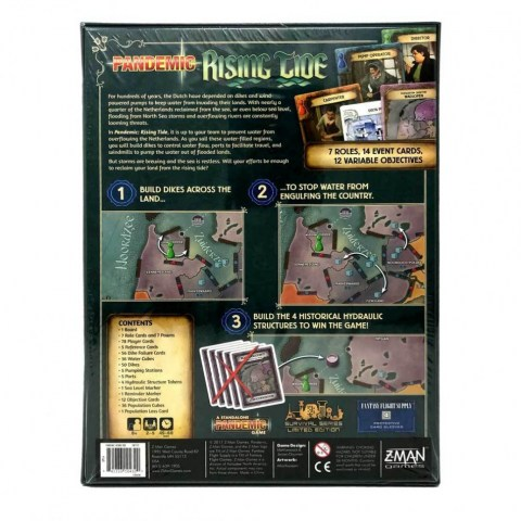 Pandemic: Rising Tide (2017)  - настолна игра