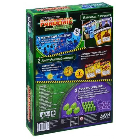 Pandemic: State of Emergency Expansion (2015)  - разширение за настолна игра
