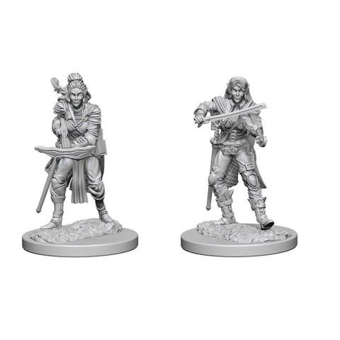 Pathfinder Battles: Deep Cuts Unpainted Miniatures Wave 4: Elf Female Bard
