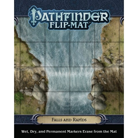 Pathfinder RPG: Flip-Mat - Falls and Rapids