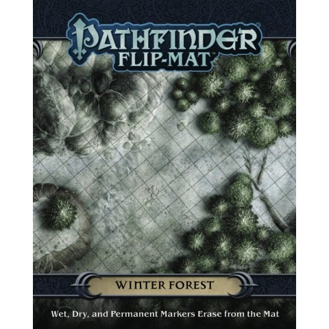 Pathfinder RPG: Flip-Mat - Winter Forest
