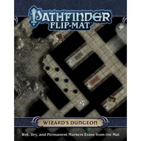 Pathfinder RPG: Flip-Mat - Wizard`s Dungeon