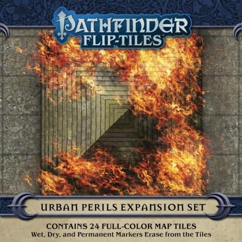 Pathfinder RPG: Flip-Tiles - Urban Perils Expansion - терени за игра за D&D и други ролеви игри
