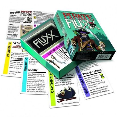 Pirate Fluxx (2011)  - игра с карти
