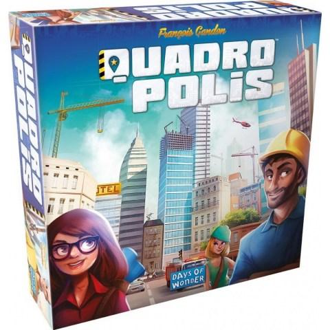 Quadropolis (2016) - настолна игра