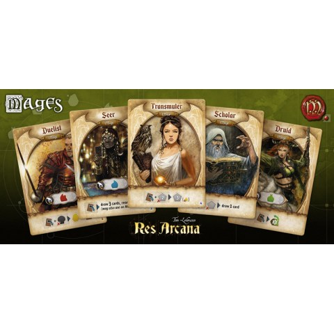 Res Arcana (2019) Board Game