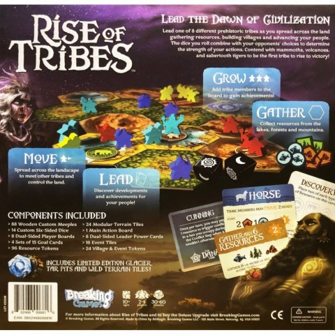 Rise of Tribes (2018) - настолна игра