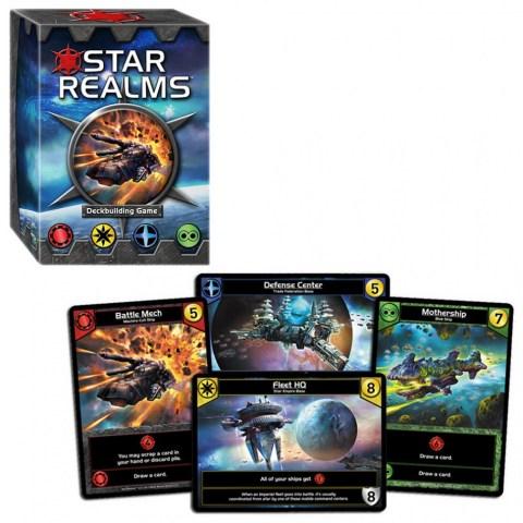 Star Realms Deckbuilding Game Board Game
