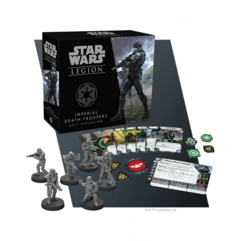 Star Wars: Legion - Imperial Death Troopers Unit Expansion Board Game