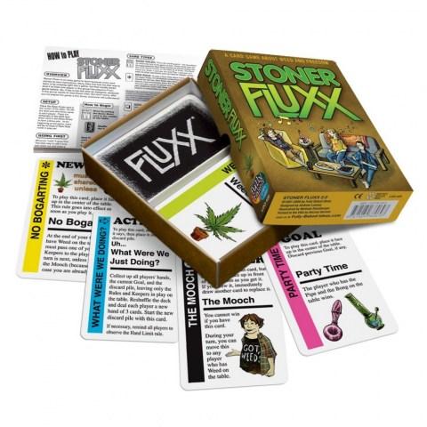 Stoner Fluxx (2003)  - игра с карти