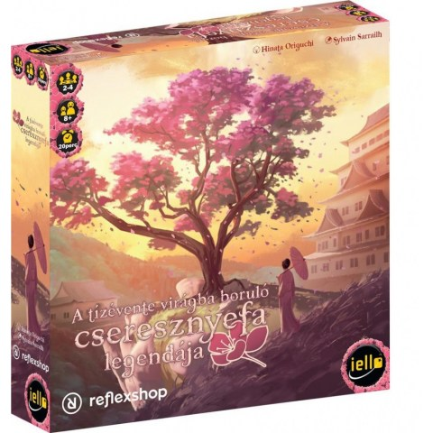 The Legend of the Cherry Tree that Blossoms Every Ten Years (2018) - настолна игра