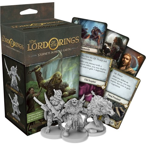 The Lord of the Rings: Journeys in Middle-earth - Villains of Eriador Figure Pack - разширение за настолна игра