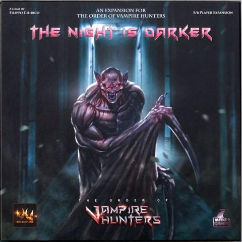 The Order of Vampire Hunters: The Night is Darker Expansion (2017) - разширение за настолна игра