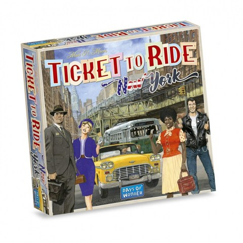 Ticket to Ride Express: New York (2018) - настолна игра