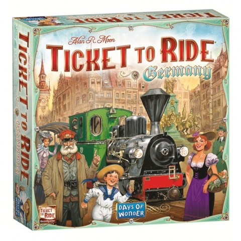 Ticket to Ride: Germany (2017) - фамилна настолна игра