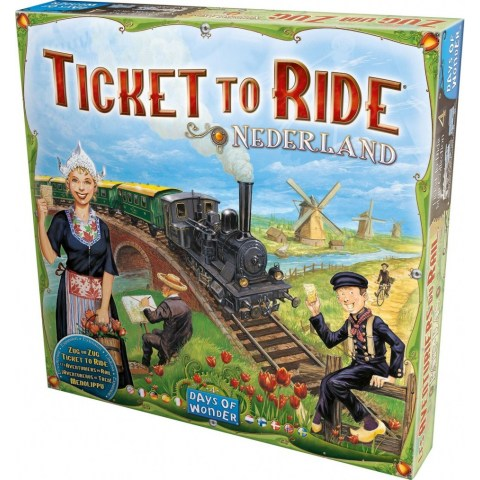 Ticket to Ride Map Collection: Volume 4 – Nederland (2013) - разширение за настолна игра