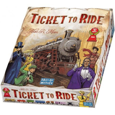 Ticket to Ride USA Board Game