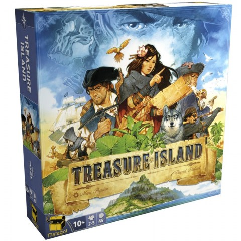 Treasure Island (2018) - настолна игра