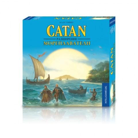 """Заселниците на Катан: """"Мореплаватели"""" (Settlers of Catan Seafarers) - разширение за настолна игра Катан"""