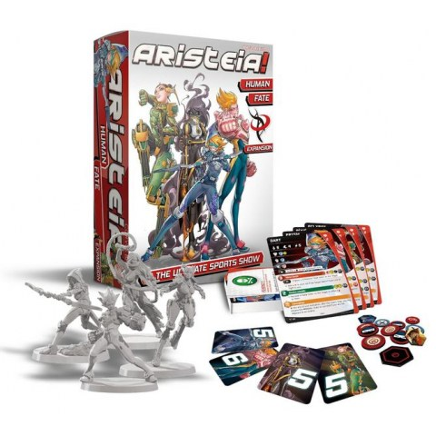 Aristeia! Human Fate Expansion Board Game