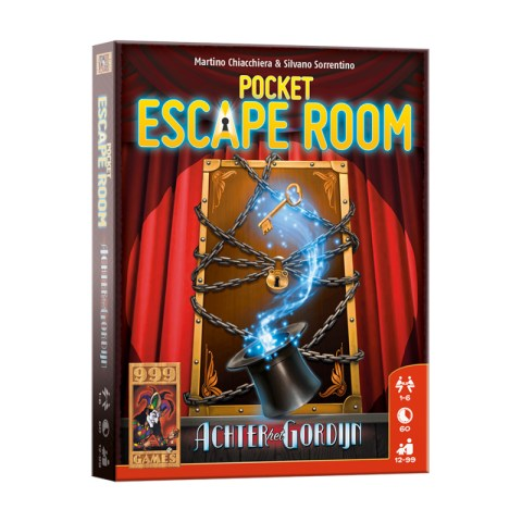 "Deckscape: Behind the Curtain (2019) - джобна ""escape room"" игра"