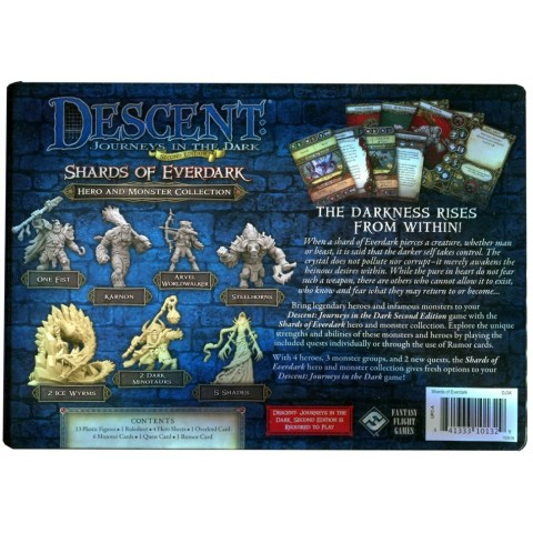 Descent: Journeys in the Dark (Second Edition) Hero and Monster Collection – Shards of Everdark (2016)