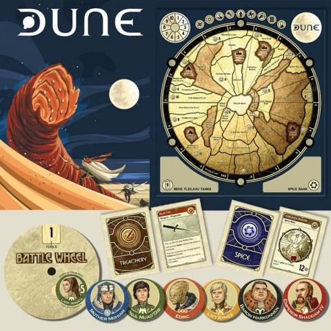Dune Board Game (2019 Edition) - настолна игра