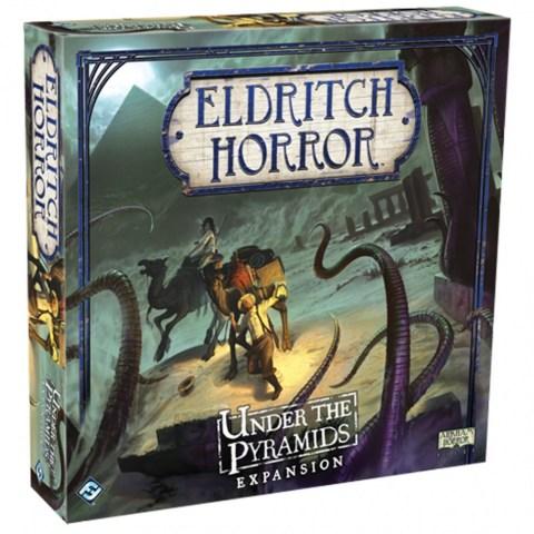 Eldritch Horror: Under the Pyramids Expansion (2015) - разширение за настолна игра