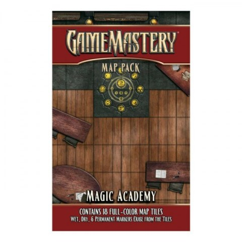 GameMastery: Map Pack - Magic Academy