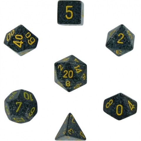 Polyhedral 7-Die Set: Chessex Speckled Urban Camo