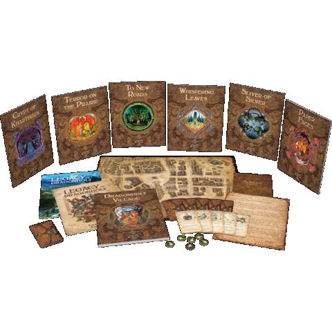 Legacy of Dragonholt (2017) - настолна игра