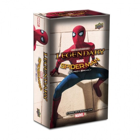 Legendary: A Marvel Deck Building Game - Spider-Man Homecoming Small Box Expansion (2017)