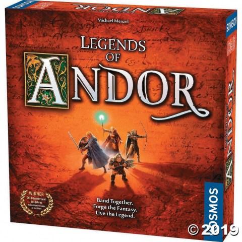 Legends of Andor (Английско издание, 2012) - кооперативна настолна игра