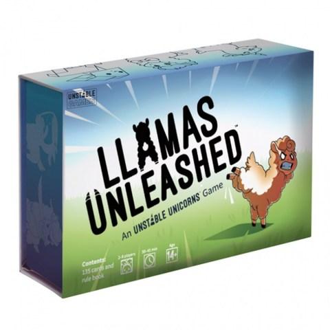 Llamas Unleashed: An Unstable Unicorns Game (2019) - настолна игра