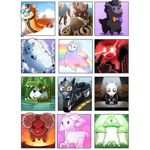 Llamas Unleashed (2019) Board Game