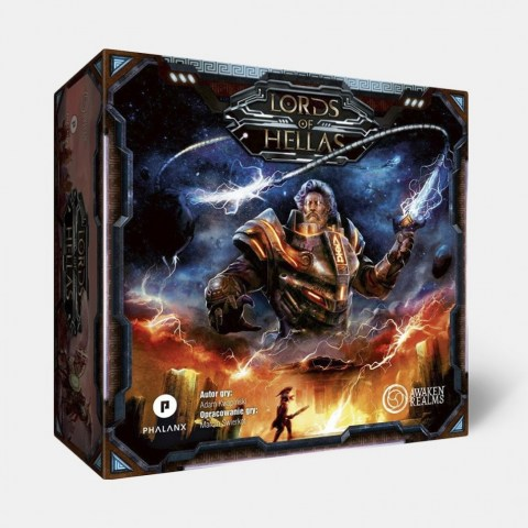 Lords of Hellas (Retail Edition, 2017) + Odysseus Promo - настолна игра