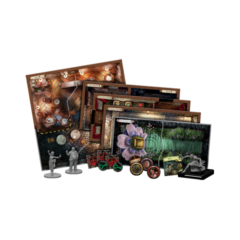 Mansions of Madness: Second Edition – Sanctum of Twilight: Expansion (2018) - разширение за настолна игра