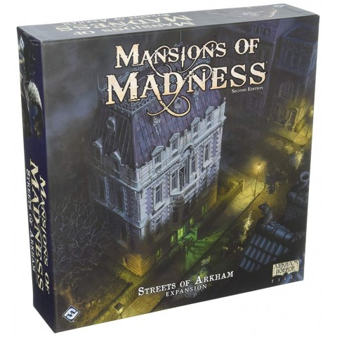 Mansions of Madness: Second Edition – Streets of Arkham: Expansion (2017) - разширение за настолна игра