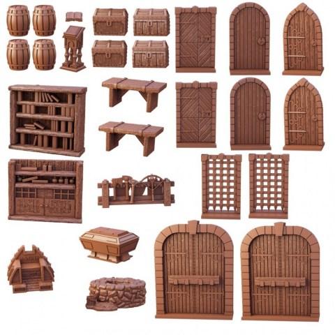 Mantic Games: Terrain Crate - Dungeon Essentials