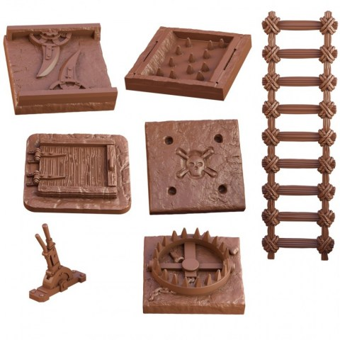 Mantic Games: Terrain Crate - Dungeon Traps