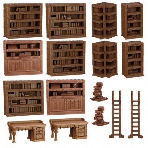 Mantic Games: Terrain Crate - Library