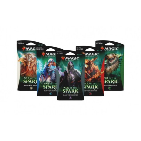 MTG: War of the Spark Theme Booster - Red