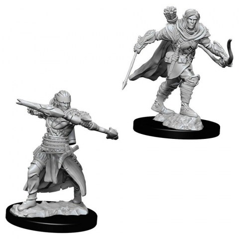Pathfinder Deep Cuts Unpainted Miniatures: Wave 7 Male Half-Elf Ranger