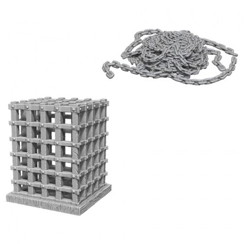 Pathfinder Deep Cuts Unpainted Miniatures Wave 6 - Cage & Chains