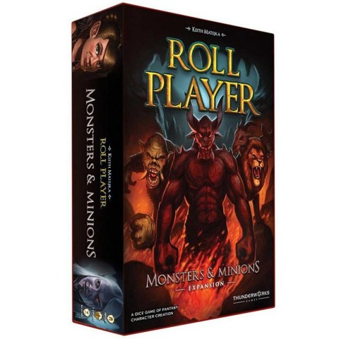 Roll Player: Monsters & Minions Expansion Board Game